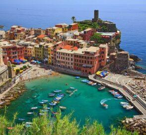 Vernazza, la postal de la Cinque Terre en Italia 1