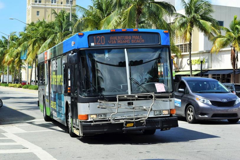 Autobus por Miami