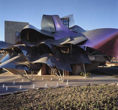 Bodega Marqués de Riscal, la ciudad del vino. 3