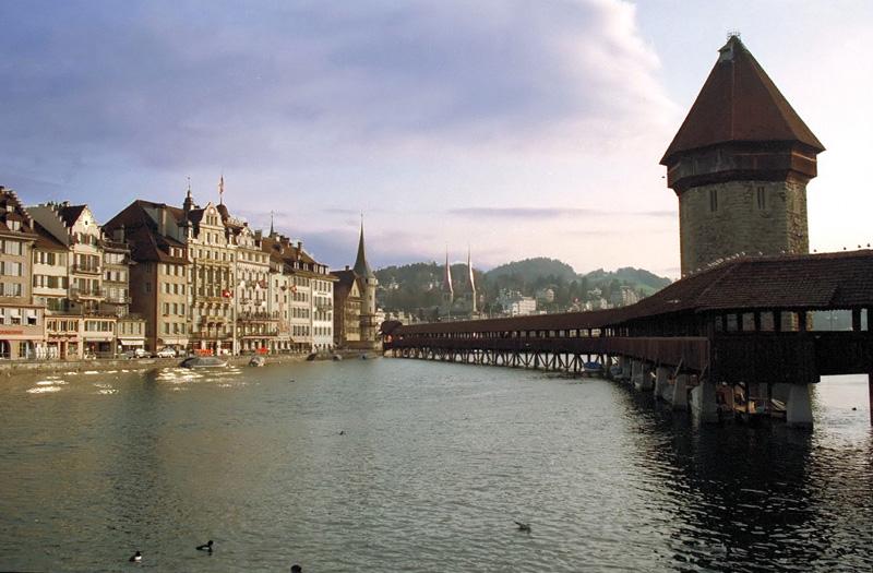 Lucerna, fin de semana invernal en Suiza 2