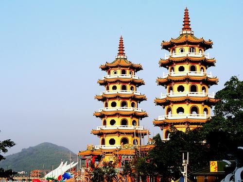 Pagodas de Kaohsiung