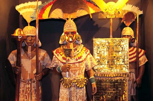 El Señor de Sipán en Lambayeque, Perú 4
