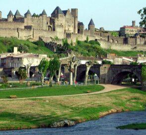 La maravillosa ciudad medieval de Carcassonne en Francia 1