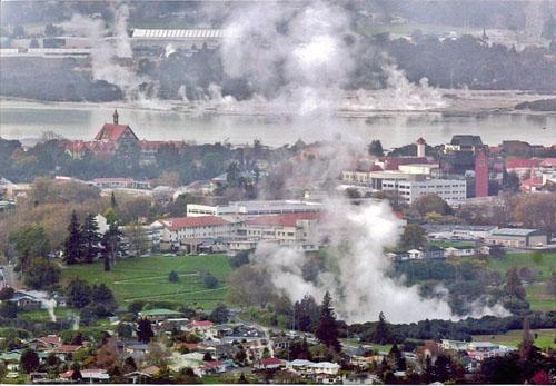 Visita la maravillosa ciudad termal de Rotorua en Nueva Zelanda 1