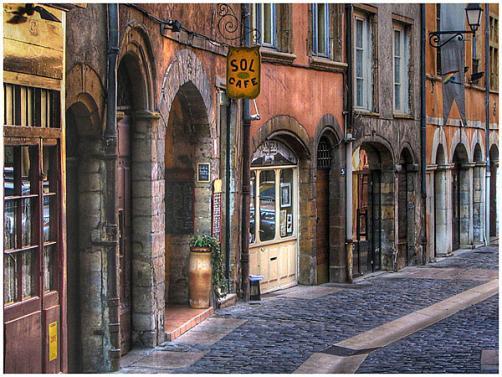 Calles del Vieux Lyon