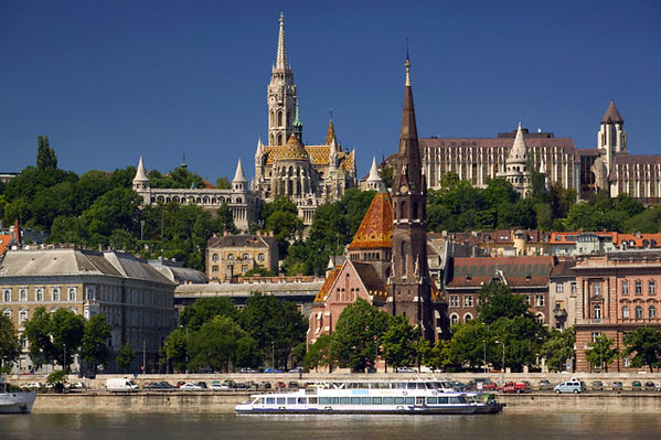 Barrio del Castillo en Budapest