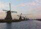 Los molinos de viento de Kinderdijk en Holanda 3