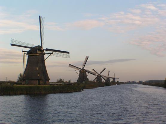 Molinos de viento de Kinderdijk