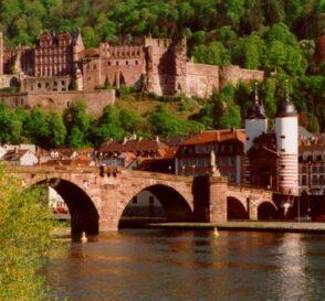 El Castillo de Heidelberg en Alemania 1