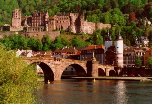 El Castillo de Heidelberg en Alemania 3
