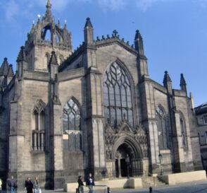 La Catedral de Saint Giles en Edimburgo 1