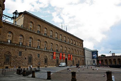 El Palacio Pitti en Florencia 9