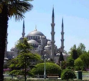 La Mezquita Azul en Turquía 1