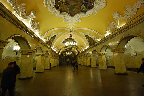 Las mejores estaciones del Metro de Moscú 13