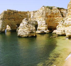 Playas en el Algarve de Portugal 1