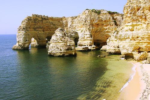 Playas en el Algarve de Portugal 11