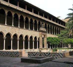 El Monasterio de Pedralbes en Barcelona 1