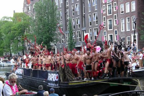 Turismo gay en Amsterdam 1