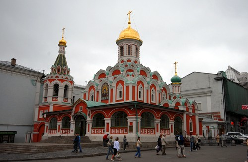 La Catedral de Nuestra Señora de Kazán en Moscú 8
