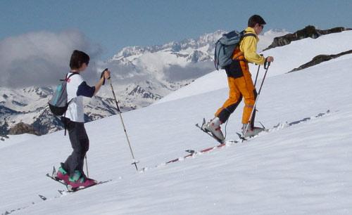 Esquí más que alpino en los Pirineos 1