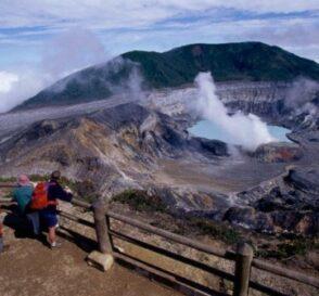 Ruta de los volcanes activos en Costa Rica 2