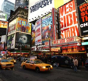El Teatro de Broadway en Nueva York 1