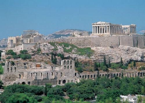 La Acrópolis de Atenas 1