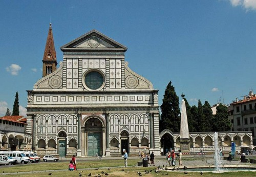 La Iglesia de Santa María Novella en Florencia  10