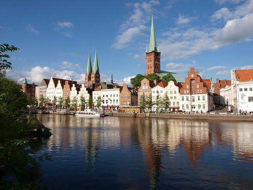 Lubeck, la ciudad del mazapán en Alemania 1
