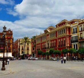 La Plaza de San Francisco en Sevilla 1