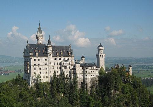 Alrededores de Munich, edificios de ensueño 3