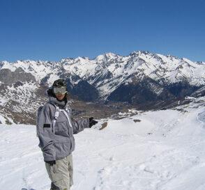 Nieve y montañas en Formigal 2