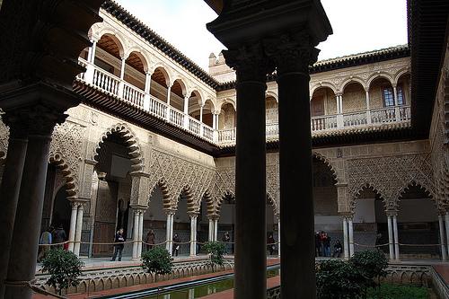 Visita a Los Reales Alcázares 1