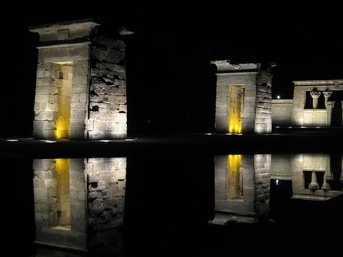 Templo de Debod en Madrid 1