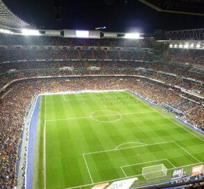 El Santiago Bernabéu en Madrid 2