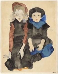 Schiele y Oldenburg en el Museo Guggenheim de Bilbao 1