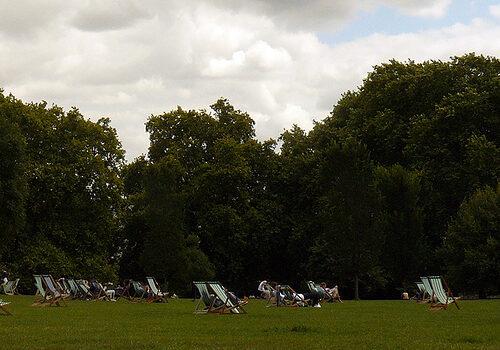 Green Park en Londres 17