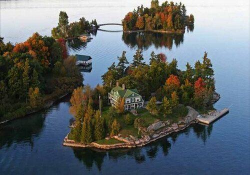 Las Mil Islas, paraíso de color en Canadá 1