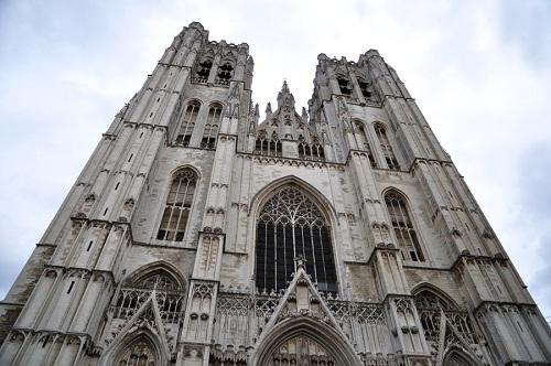 La espectacular belleza de la Catedral de Bruselas 3