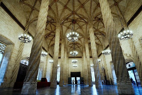 La Lonja de la Seda en Valencia, Patrimonio de la Humanidad 3