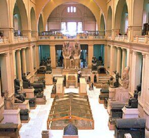 El Museo Egipcio de El Cairo 1