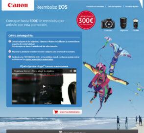 """Vuelve la campaña """"Reembolso EOS"""" de Canon 1"""