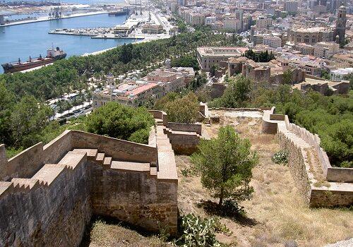 Gibralfaro, lugar con encanto de Málaga 4