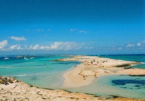 La Isla de Espalmador en Formentera 1