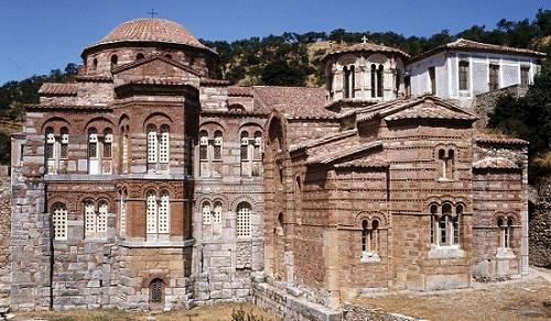 El Monasterio de Dafni, en Atenas 8