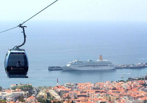 El teleférico de Funchal en Madeira 2