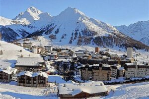 Esquiar en Turín, Italia 2