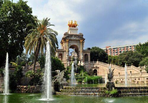 El Parque de la Ciudadela en Barcelona 1