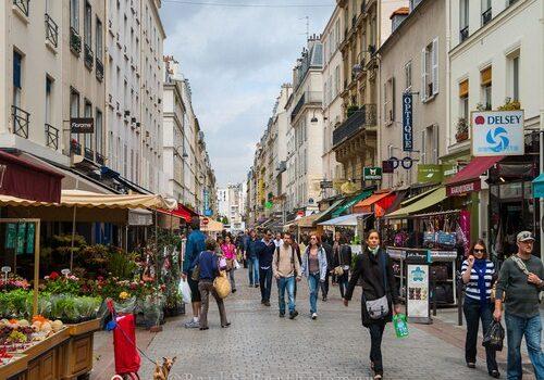 La Rue Cler, mercado exclusivo en París 7