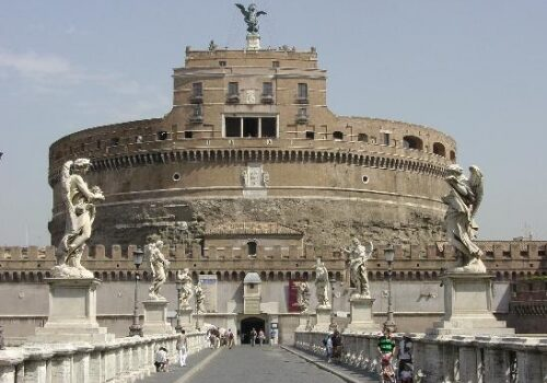 El Castillo de San Angelo en Roma 1